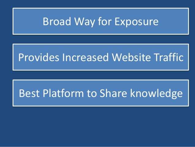 Helpful to Disclose Website Info  Effective Introduction of Products