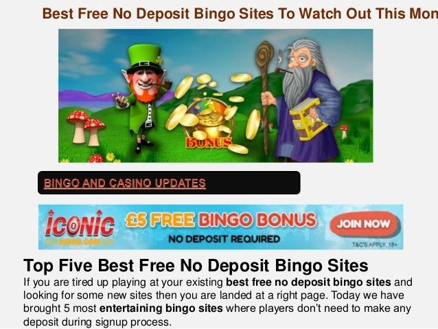 Online bingo no deposit new sites gambling fever and religion