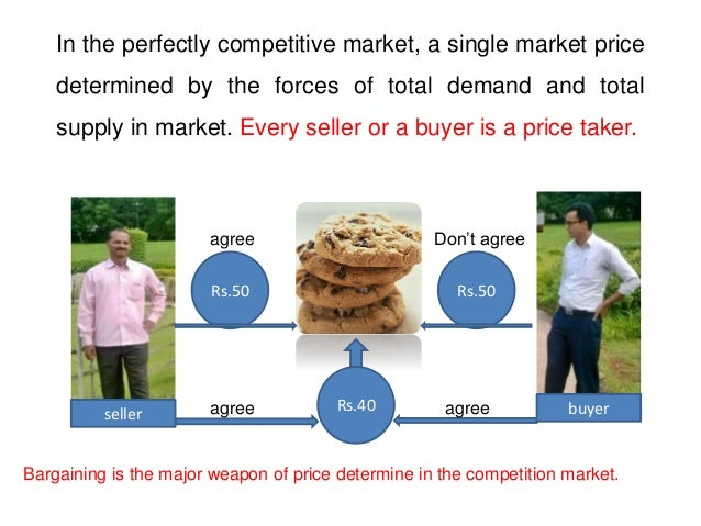 product and perfect competition Perfect competition (also called pure competition) is a market structure in which (a) there are large number of participants selling and buying standardized products.