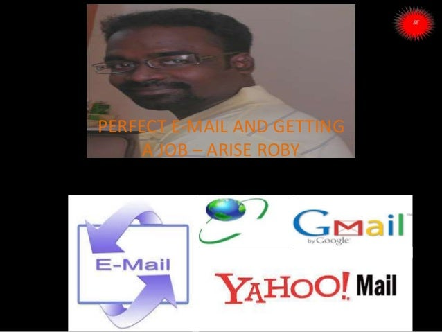 ARISE TRAINING & RESEARCH CENTER PERFECT E-MAIL AND GETTING A JOB – ARISE ROBY