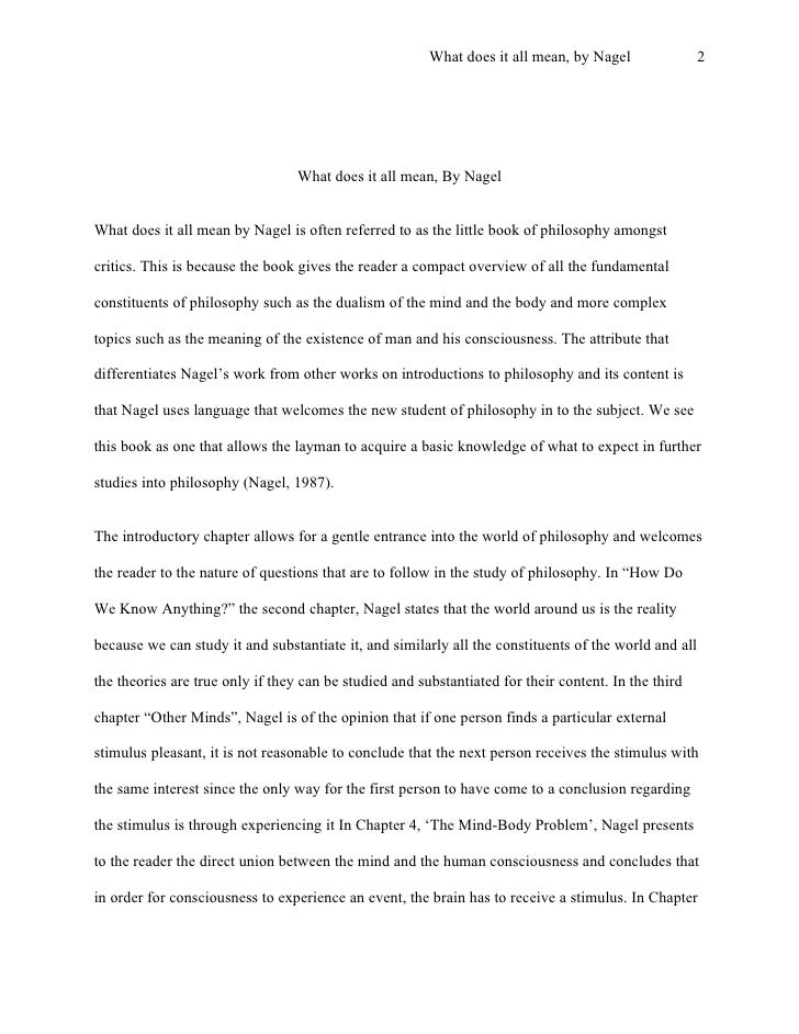 essay on dualism and materialism