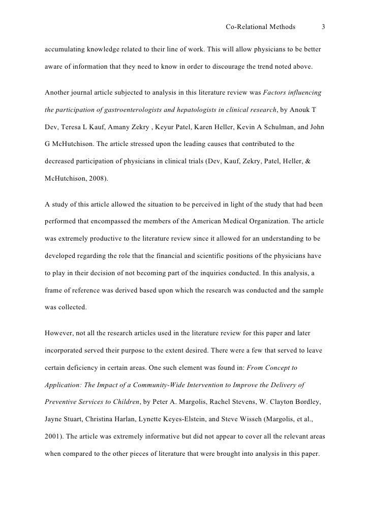sample of apa essay