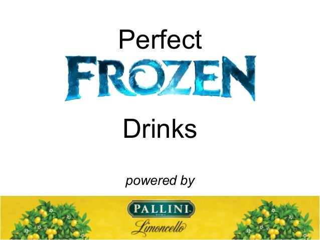 Perfect Drinks powered by