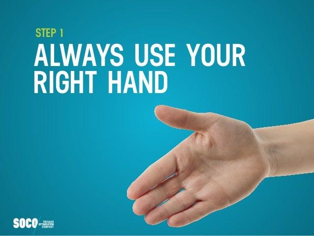 6 Steps to a Perfect Handshake Slide 2