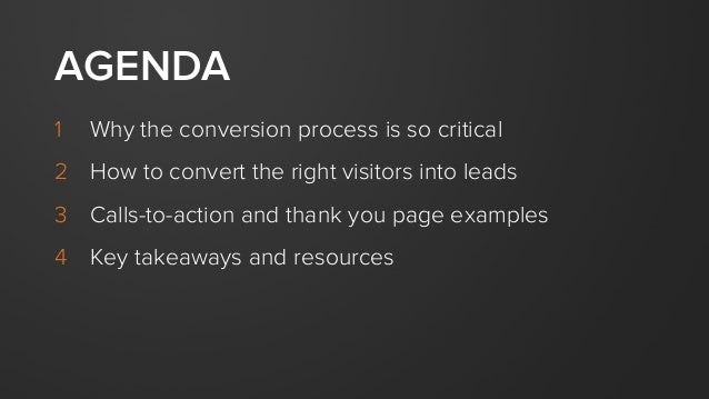 Perfecting the Conversion Process Slide 3