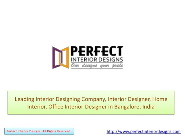 Home interior design interior designs company bangalore for Interior design business names
