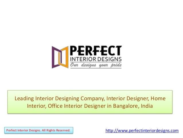 Captivating Leading Interior Designing Company, Interior Designer, Home Interior,  Office Interior Designer In Bangalore ...