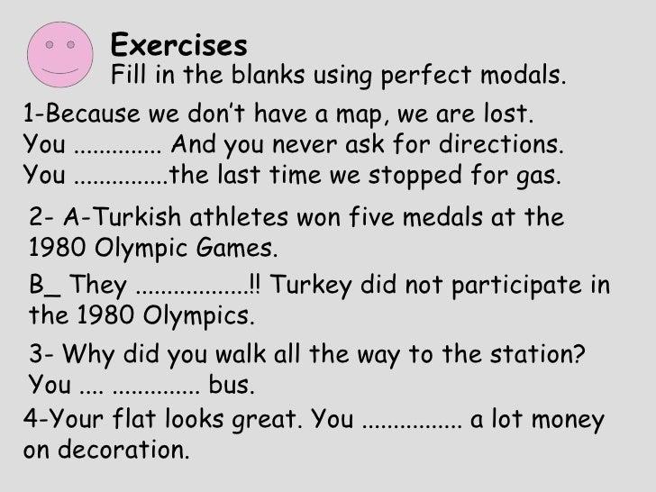 Perfect Modals Presentation
