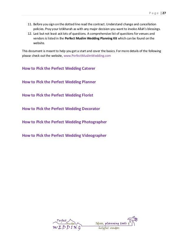 Prayer for wedding planning