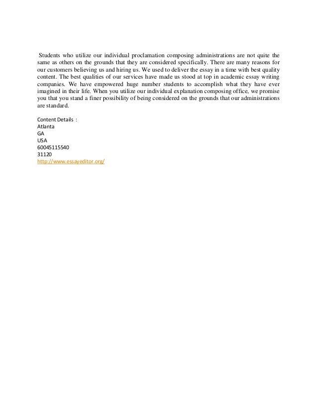 national honor society personal essay