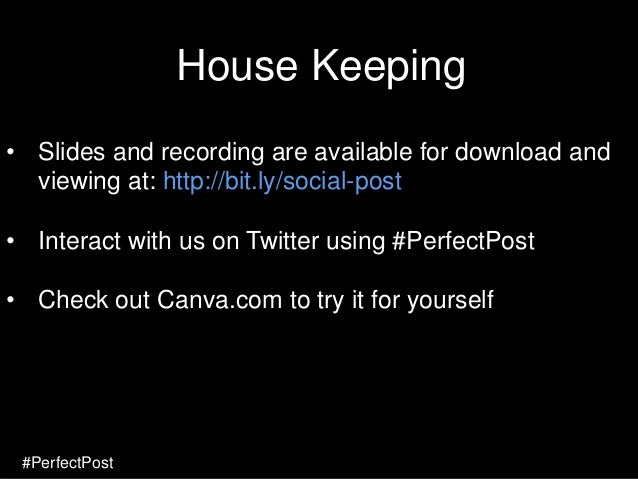 The Art of the Perfect Social Media Post Slide 2