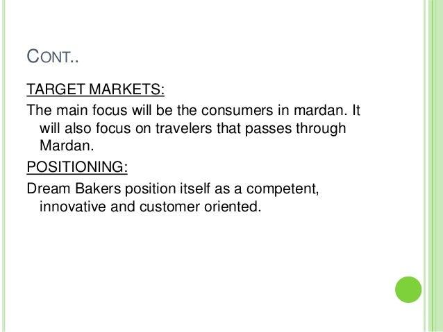 target market for restaurant example