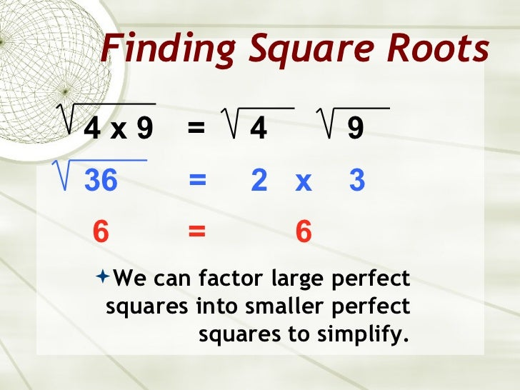 how to learn square roots