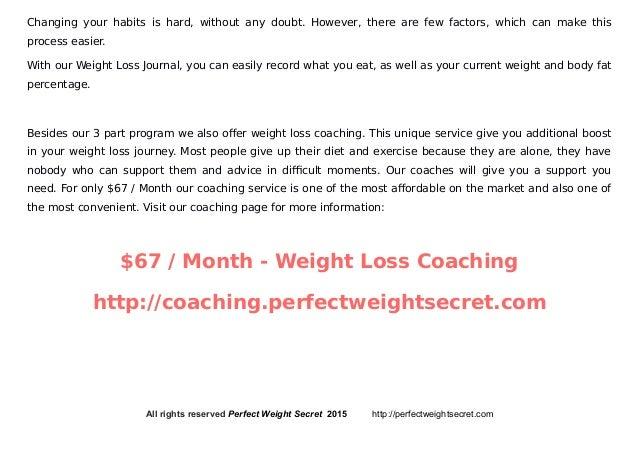 weight journal template