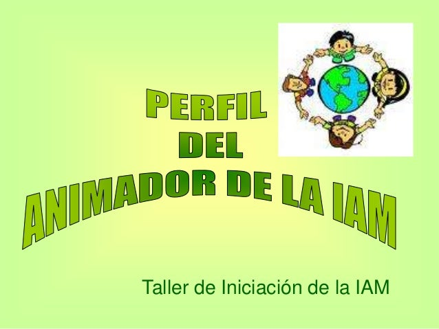 Taller de Iniciación de la IAM