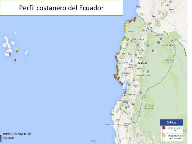 Perfil costanero del Ecuador