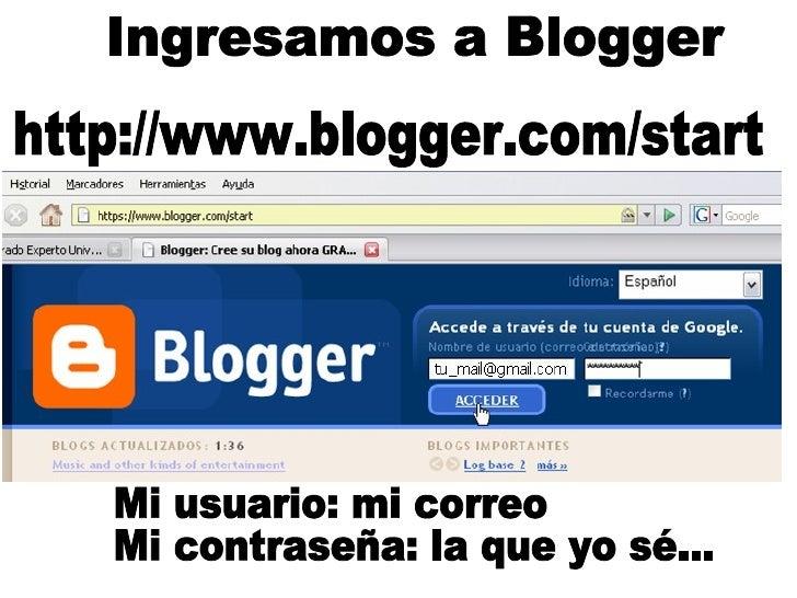 Perfil de Blogger Pablo Slide 2
