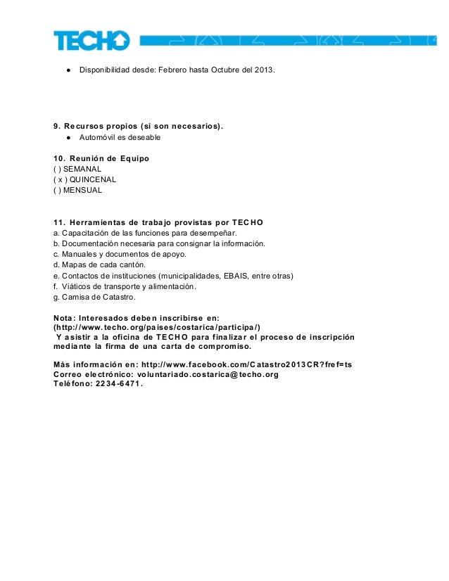 Catastro nacional de asentamientos 2013 - Oficina de catastro ...