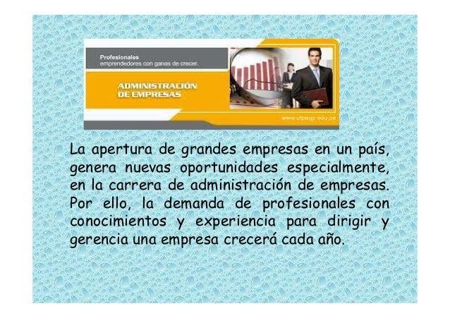 Perfil de un buen administrador de empresas for Senar la demanda de empleo por internet