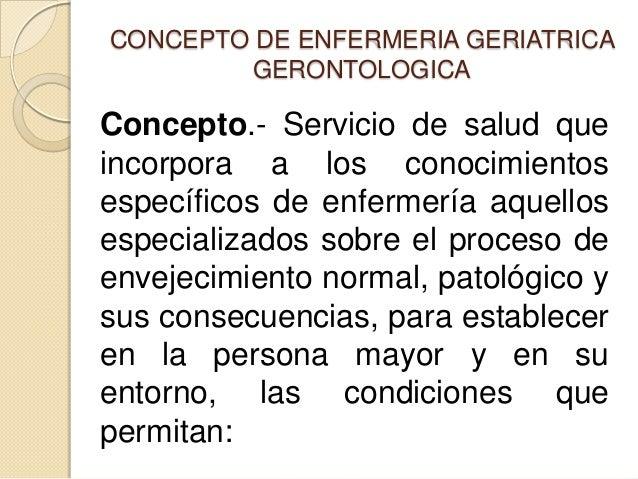 ENFERMERIA GERIATRICA DEFINICION PDF DOWNLOAD