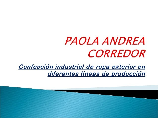 Confección industrial de ropa exterior en diferentes líneas de producción