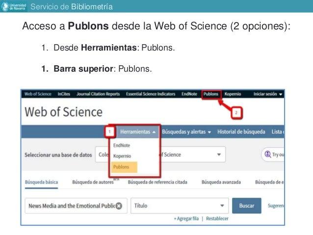 Perfil Plubons/ResearcherID Slide 2