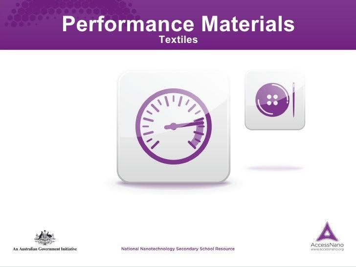 Performance Materials Textiles