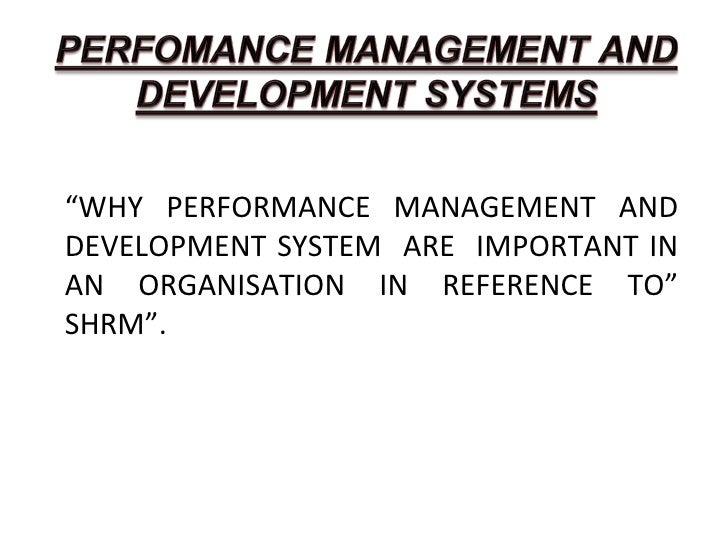Perfomance Management SHRM Slide 2