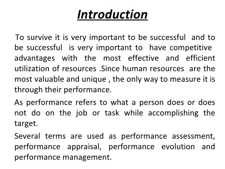 Introduction <ul><li>To survive it is very important to be successful  and to be successful  is very important to  have co...