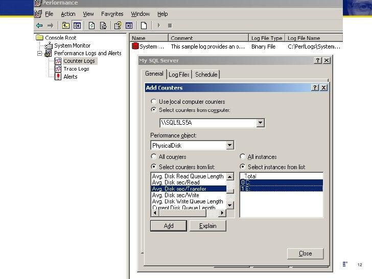 Use Resource Monitor to monitor storage performance