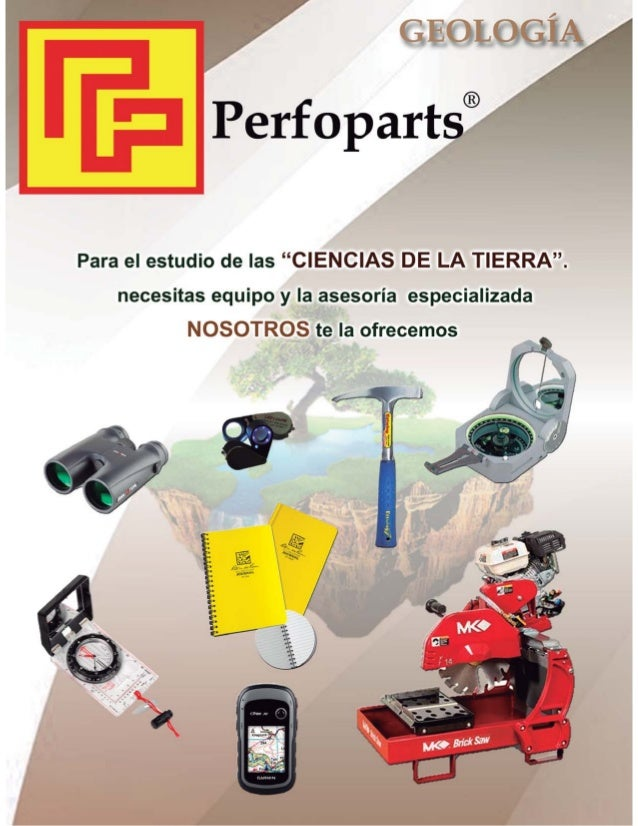 Perfoparts geologia