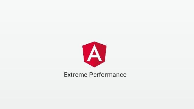 Extreme Performance