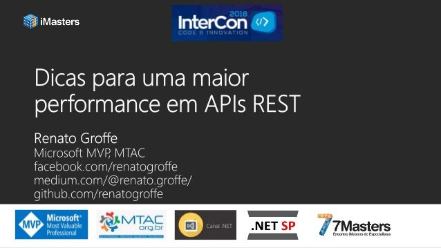 • Microsoft Most Valuable Professional (MVP) • Multi-Plataform Technical Audience Contributor (MTAC) • Mais de 15 anos de ...