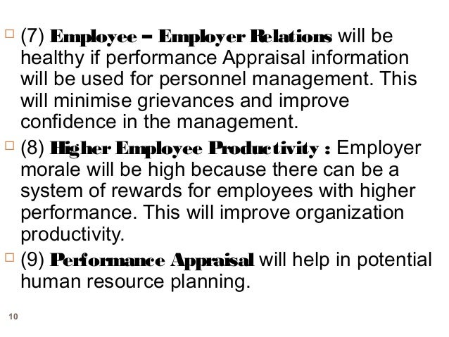 Performance appraisal approaches
