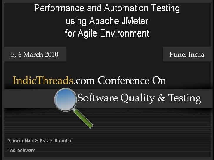 performance and automation testing using apache jmeter for agile envi u2026