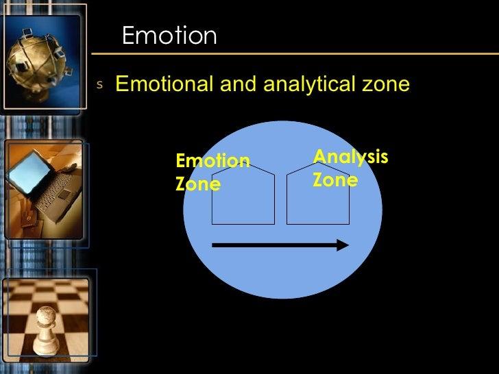 <ul><li>Emotional and analytical zone </li></ul>Emotion Emotion Zone Analysis Zone
