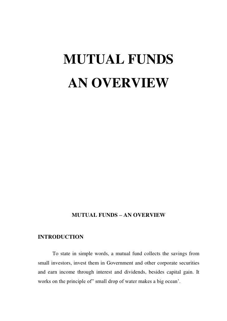 evaluation perception about the mutual fund mba project Mba final year project titles office address jp infotech, #37, kamaraj salai, thattanchavady, pondy-tindivanam high road, puducherry – 605 009.