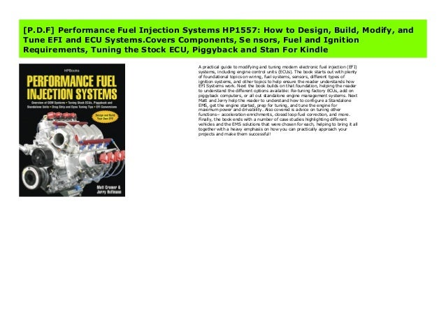 P D F Performance Fuel Injection Systems Hp1557 How To Design Bui