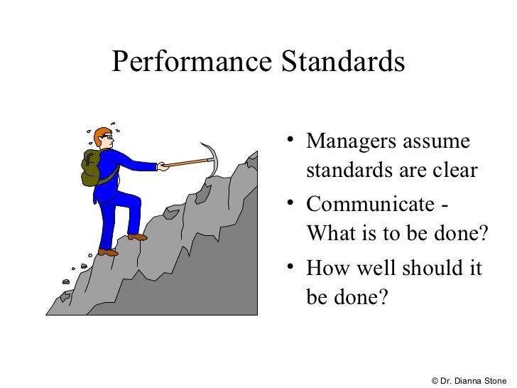 Standards of performances