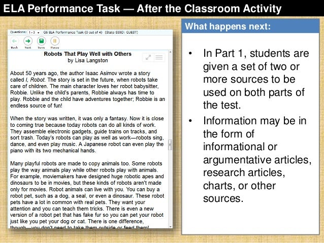 sbac-performance-task-overview-32-638 Overview Of Performance Tasks Example on example of constructed response, example of geometry, example of test, example of rate, example of skills, example of collaborative learning, example of holistic scoring, example of standards, example of literary luminary, example of vocabulary, example of project, example of technology, example of interview, example of problem solving, example of activity, example of multiple intelligences, example of bloom's taxonomy, example of iep, example of critical thinking, example of validity,