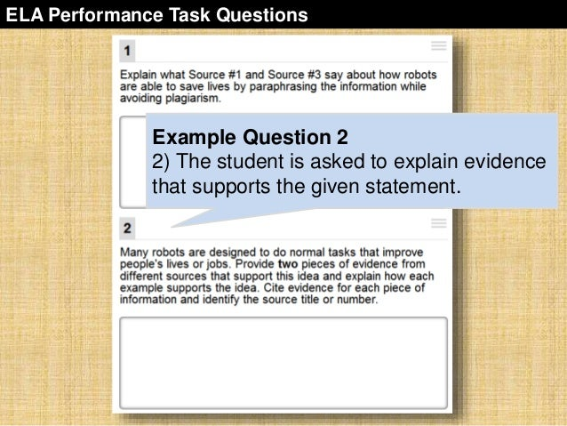 sbac-performance-task-overview-36-638 Overview Of Performance Tasks Example on example of constructed response, example of geometry, example of test, example of rate, example of skills, example of collaborative learning, example of holistic scoring, example of standards, example of literary luminary, example of vocabulary, example of project, example of technology, example of interview, example of problem solving, example of activity, example of multiple intelligences, example of bloom's taxonomy, example of iep, example of critical thinking, example of validity,