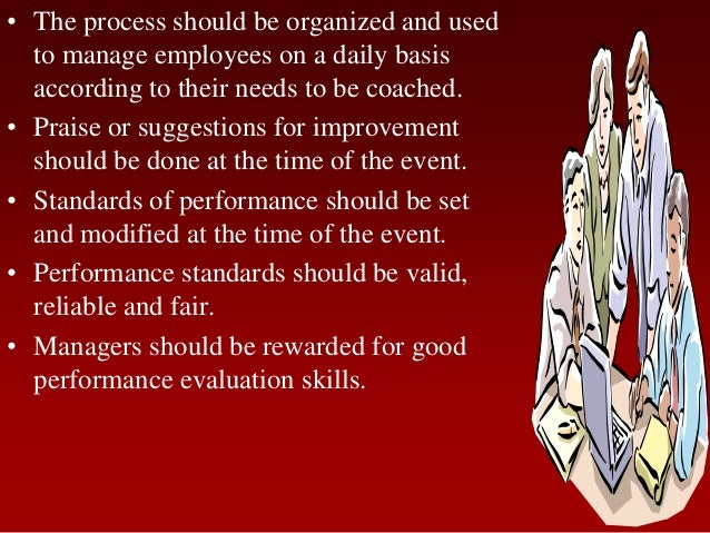 • The process should be organized and usedto manage employees on a daily basisaccording to their needs to be coached.• Pra...