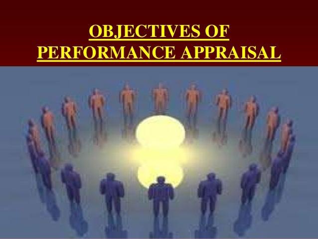 OBJECTIVES OFPERFORMANCE APPRAISAL