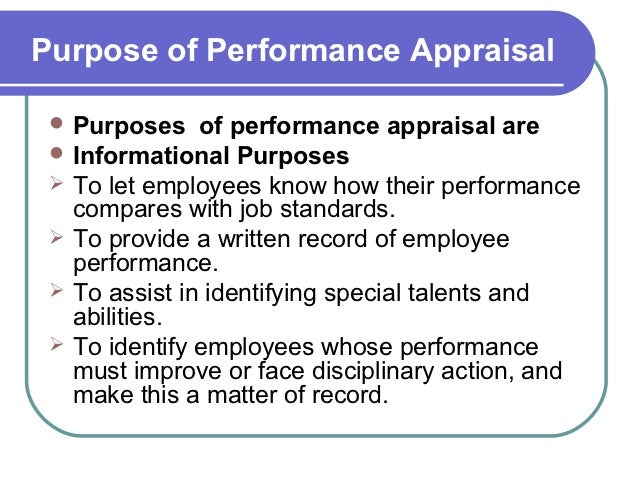 Performance Appraisal And Training Copy