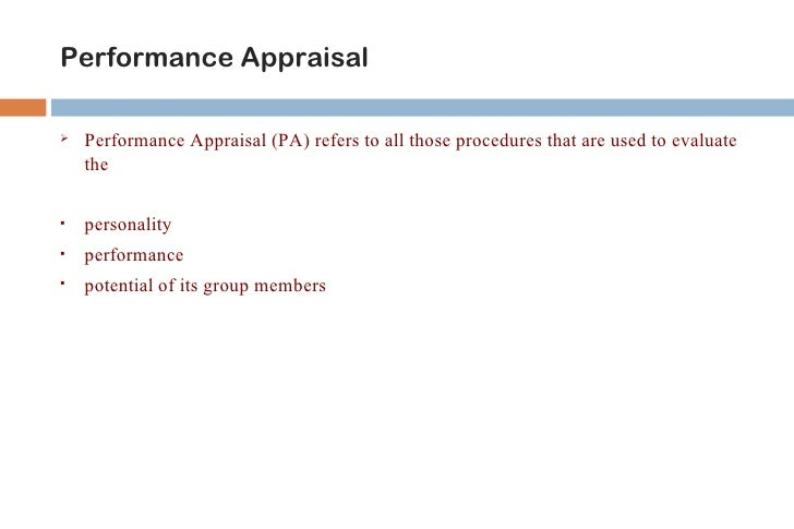 Why Appraisals Are Important??   Set goals        Set goals   Recognize performance        Recognize performance      ...