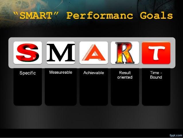 """""""SMART"""" Performanc Goals"""