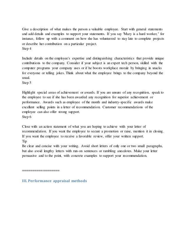 Performance Evaluation Letter Sample from image.slidesharecdn.com