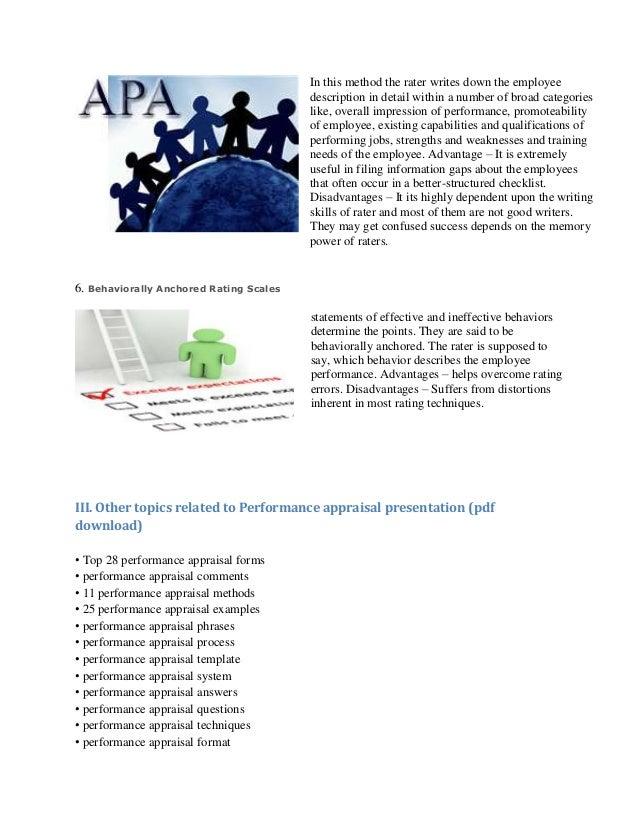 performance appraisal presentation, Presentation templates