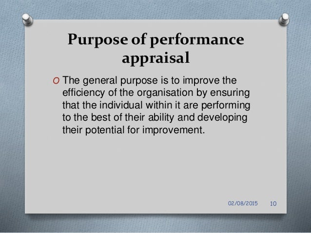 Performance Appraisal For Nursing Staff