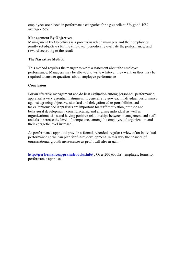 Performance appraisal project report Slide 2